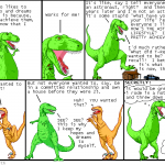 Dinosaur Comics: Hopes And Dreams