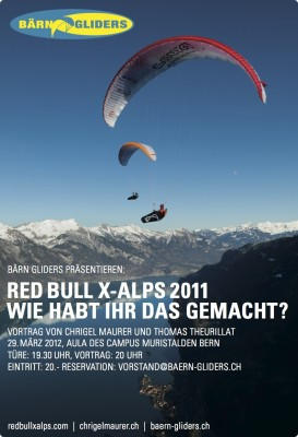 Einladung X-Alps Vortrag 31.03.2012