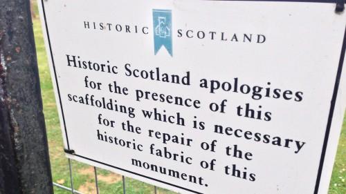 Schottland - Nette Schilder