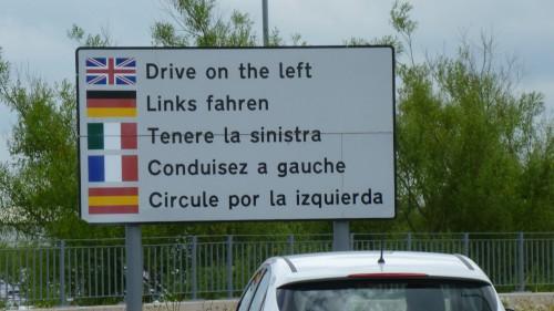 Schottland - Linksverkehr