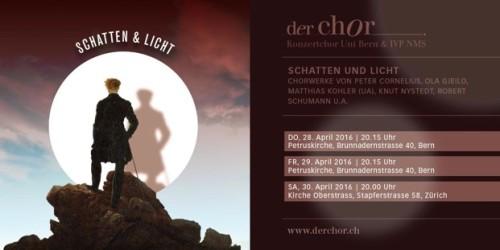 Der Chor - Schatten & Licht