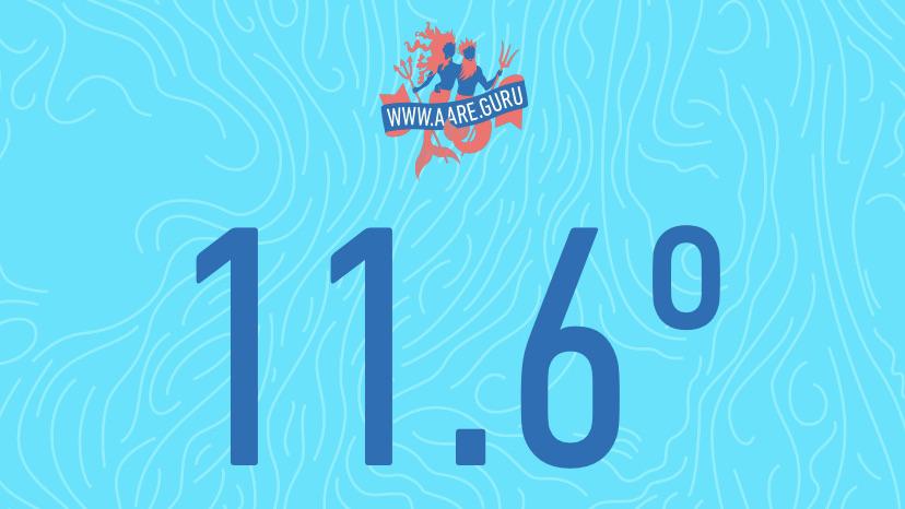 Aare-Temperatur 11.6° C
